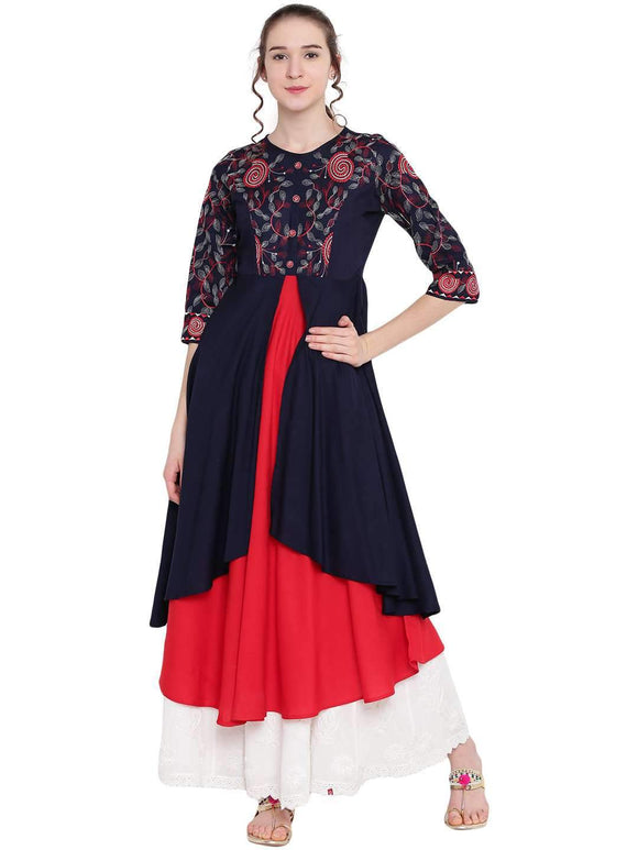 STYLISH LAYER LONG KURTI