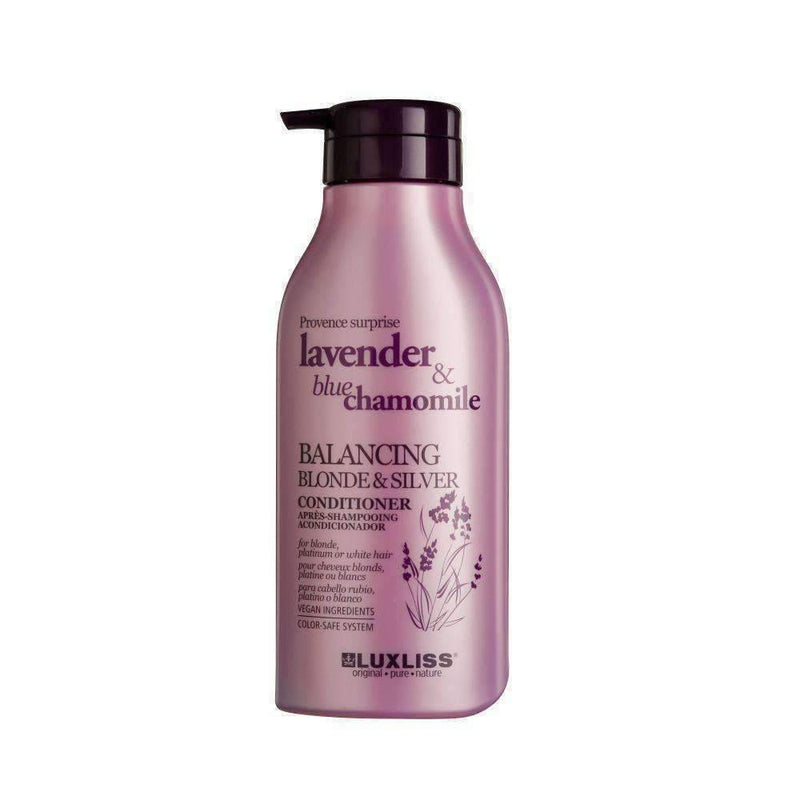 LUXLISS Balancing Blonde & Silver Conditioner 500ml