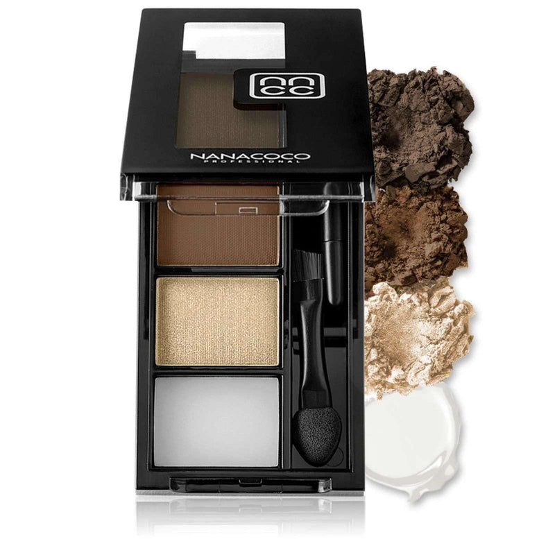 NANACOCO PRO Browstylers Powder Kit 3.8g (Brunette)