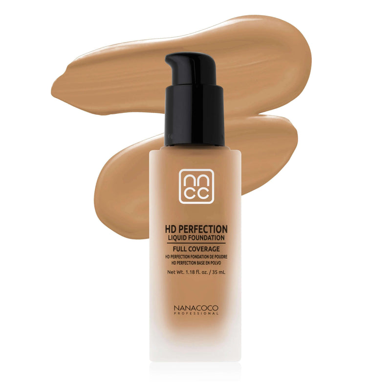 NANACOCO PRO HD Perfection Liquid Foundation 30ml (Golden Ivory)