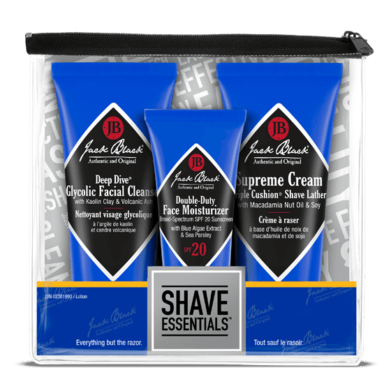 Jack Black Shave Essentials Gift Set