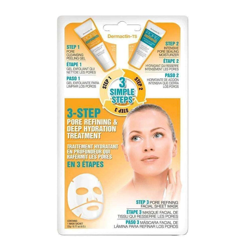 DERMACTIN TS 3 Step Pore Refining & Deep Hydration Treatment