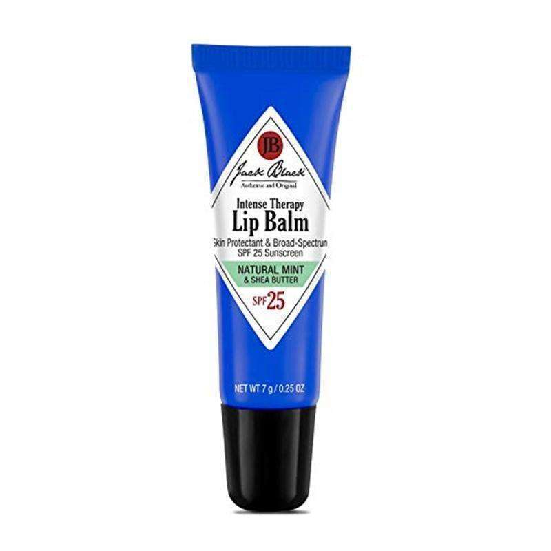 Jack Black Intense Therapy Lip Balm SPF25 7g (Natural Mint and Shea Butter)