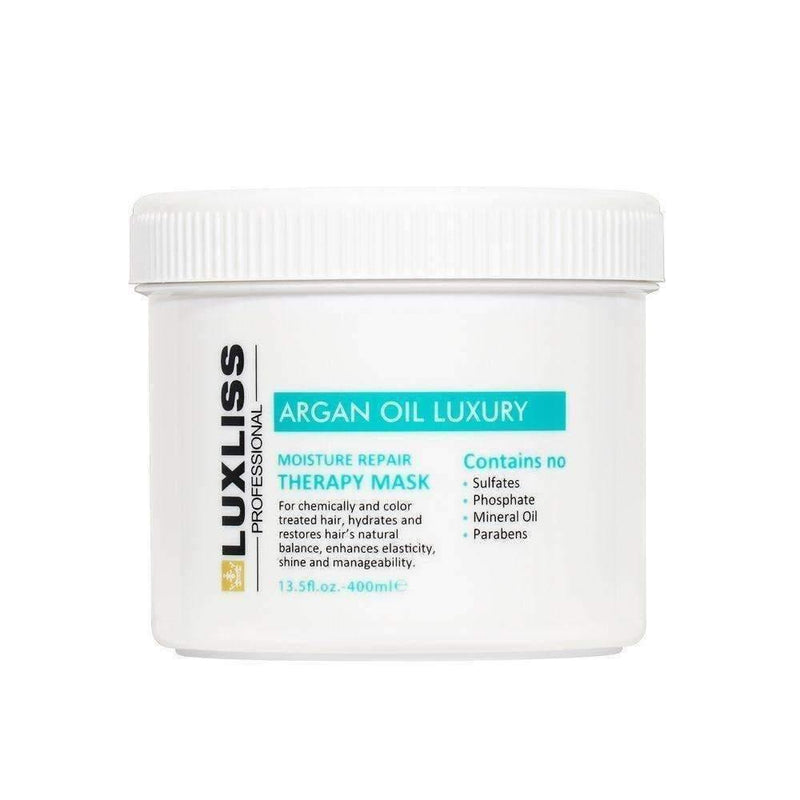 LUXLISS Argan Oil Moisture Repair Mask 400ml