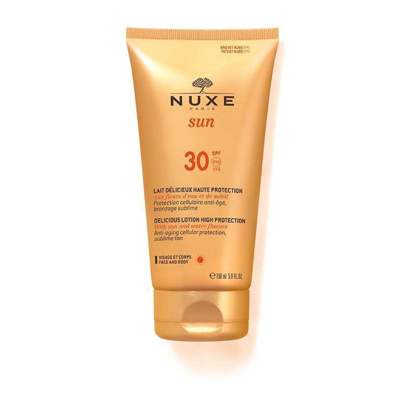 NUXE Delicious Lotion for Face and Body SPF 30 150ml