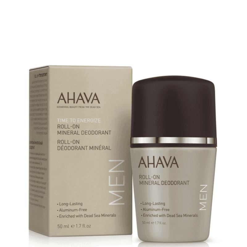AHAVA MAN Roll On Mineral Deodorant 50ml