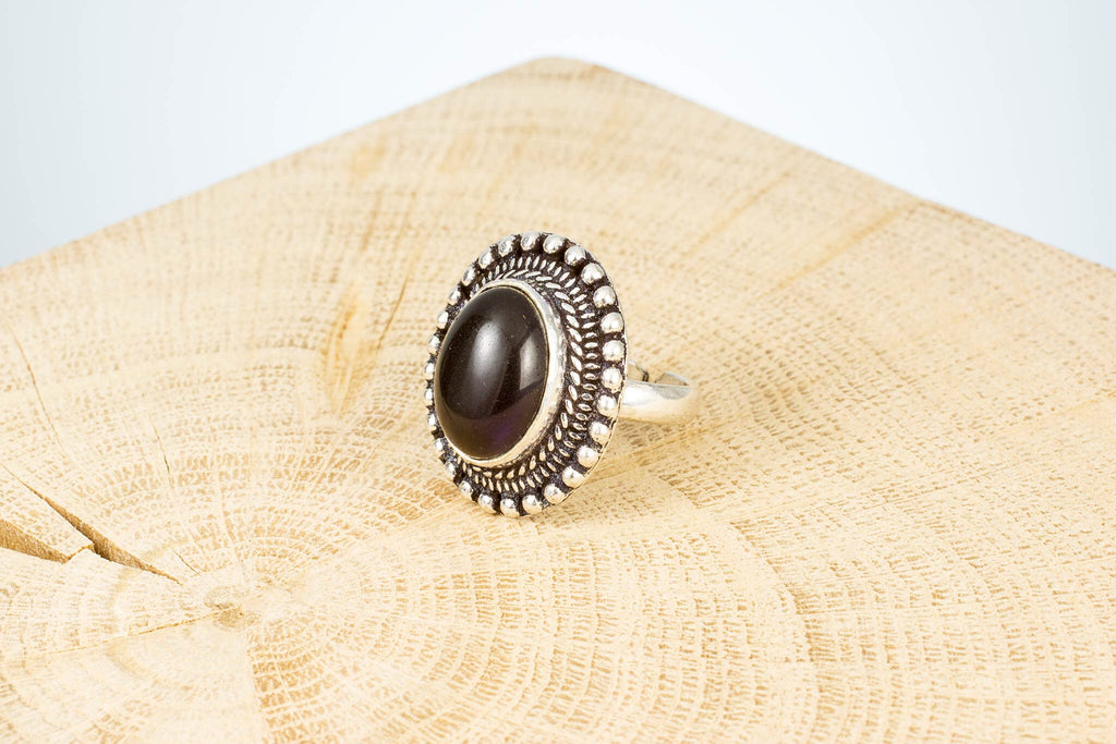 Ring Fingerring Edelstein handgemacht Fair Trade
