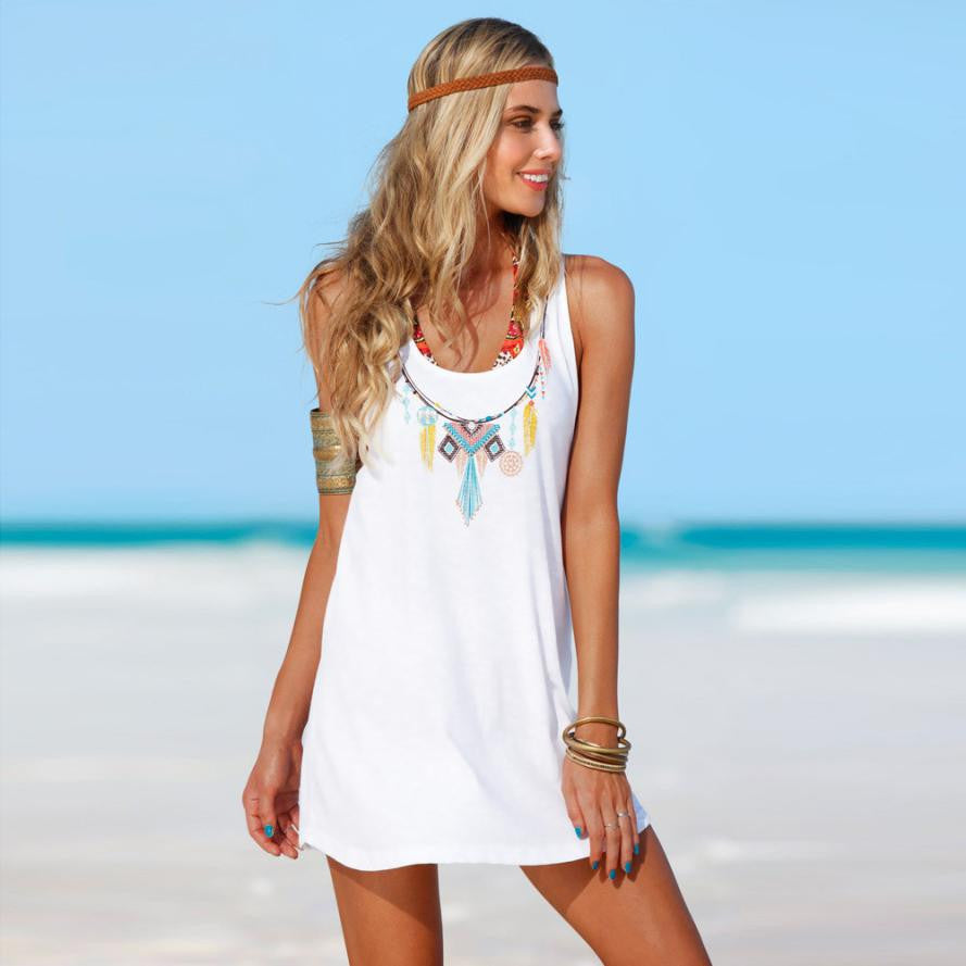 Lulworth Cove Summer Beach Dress