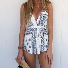 Druridge Bay Summer Beach Playsuit