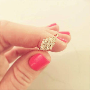 16. BKD Diamond-Shaped Diamond Ring