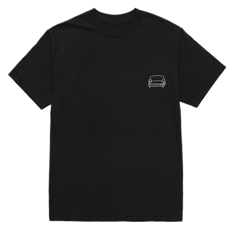 'couch basic' tee (black)