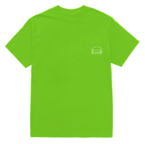 'couch basic' tee (green)