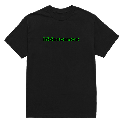 'iridescence' icon tee (black)