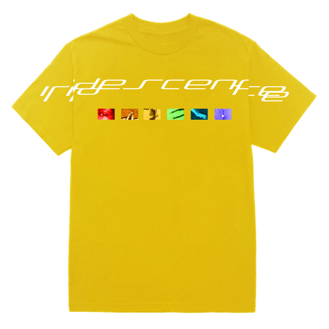 'iridescence' spectrum tee (yellow)