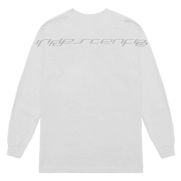 'take it all' longsleeve tee (white)