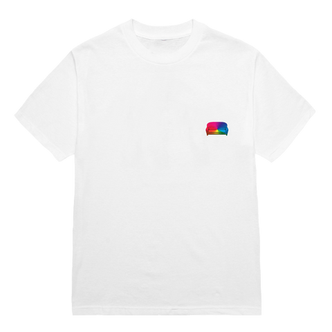'iridescence' album art tee (white)