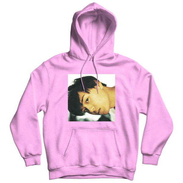 'kevin doan' hoodie (pink) + digital album bundle