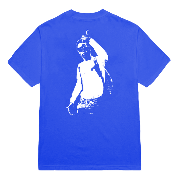 'merlyn' handprint tee (blue) + digital album bundle