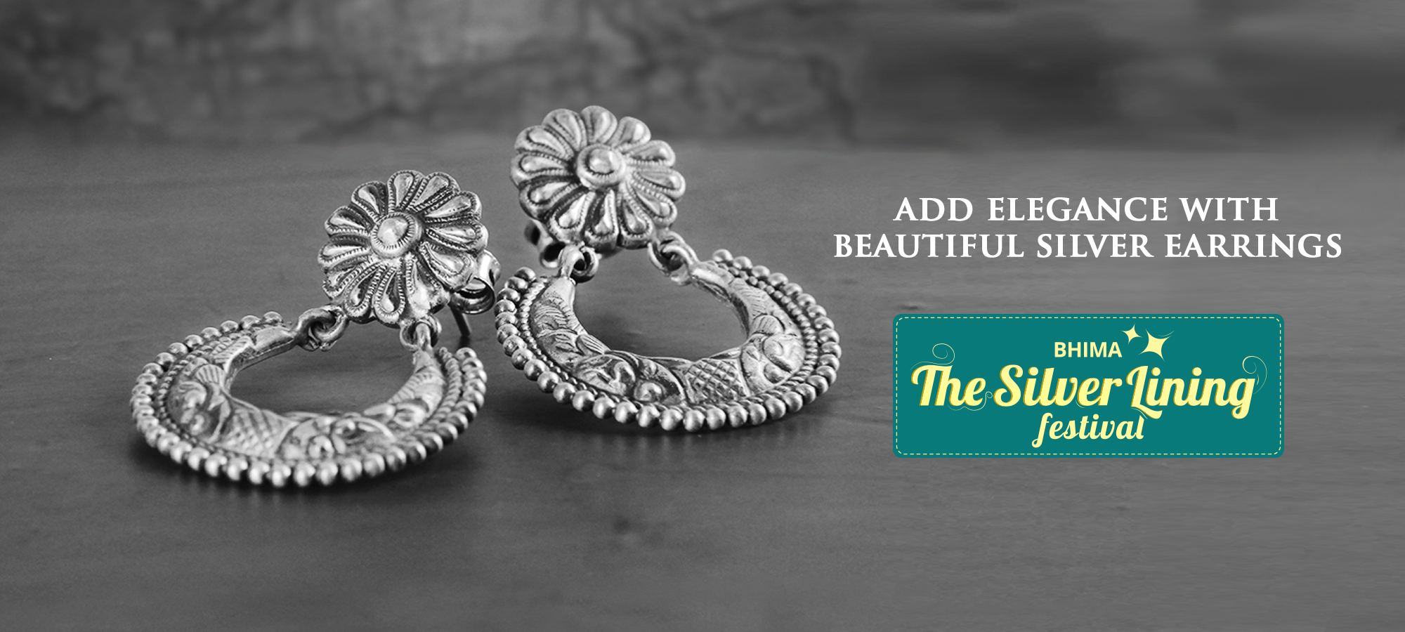 finish designs silver latest jewelsmart jewellery oxidised jhumka earrings buy online