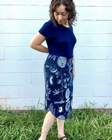 Rachel Barnes | Oak Blue Design | midi skirt ROMA