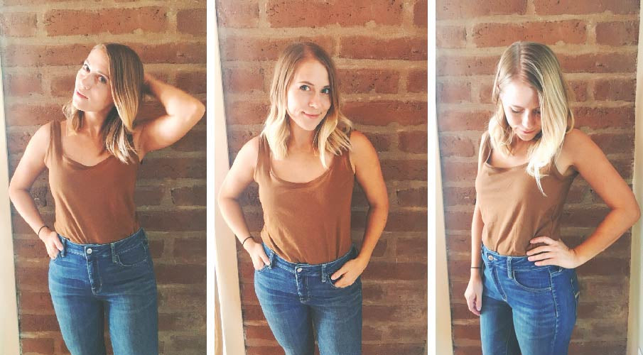 Emily | super basic TANK TOP | tester round-up