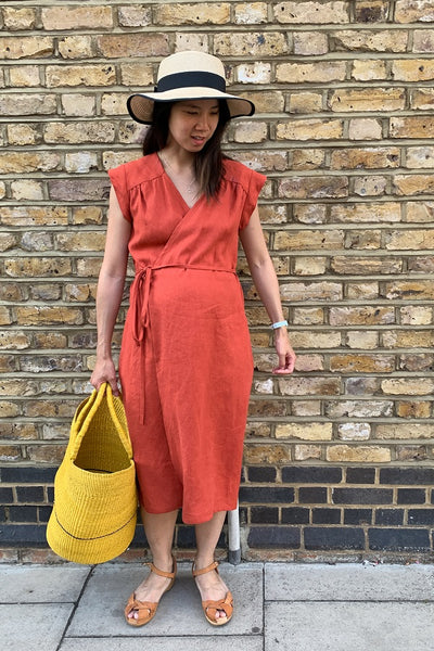 VONDEL Sew Along | Kate from Time to Sew | halfmoon ATELIER