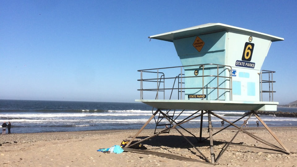 lifeguard house Ventura, CA