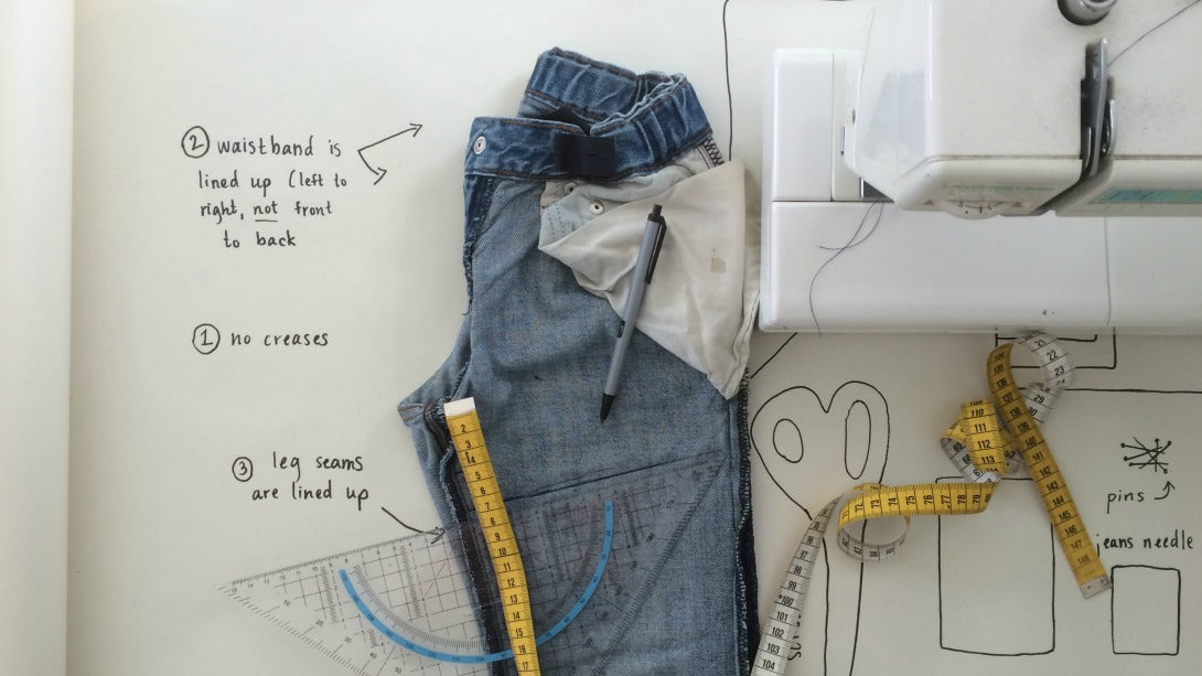 tutorial | favorite jean shorts