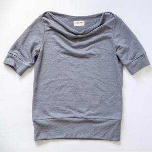boat neck ANEGADA | Organic Cotton Plus | French Terry kit | organic cotton | sustainable sewing