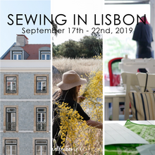 Sewing in Lisbon | sewing retreat
