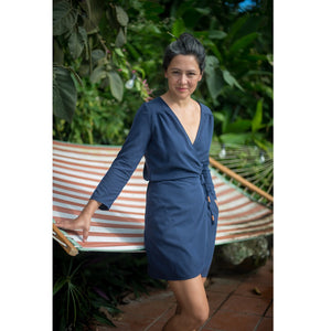 wrap top + dress VONDEL | PDF sewing pattern