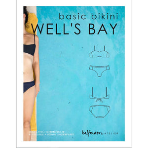 basic bikini WELL'S BAY | PDF sewing pattern