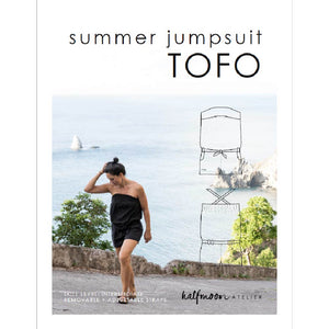 summer jumpsuit TOFO | PDF sewing pattern