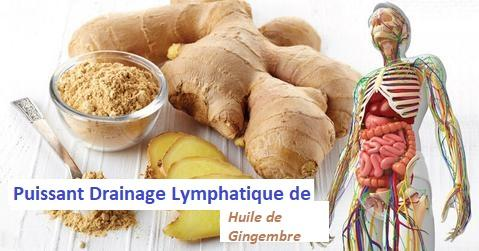 perdre 10 kg massage gingembre soulager la douleur lymphatique