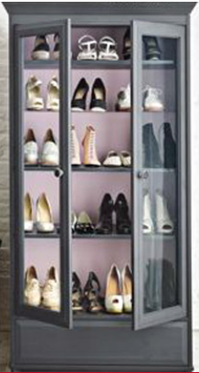 rangement chaussures 5 id es pour gagner de la place la maison le shop beaut. Black Bedroom Furniture Sets. Home Design Ideas
