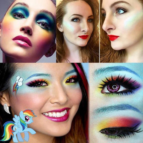 fard-a-paupiere-couleur-arc-en-ciel-maquillage-simple-pas-cher
