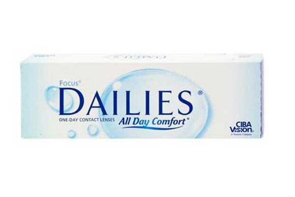 Focus Dailies All Day Comfort (30 Lenses Per Box)
