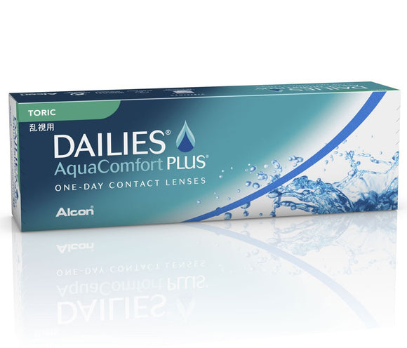 DAILIES AquaComfort Plus Toric (30 Lenses Per Box)