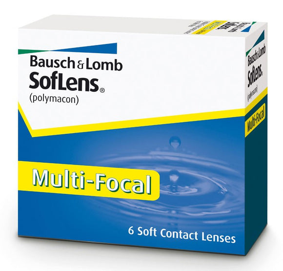 SofLens MultiFocal (6 Lenses Per Box)