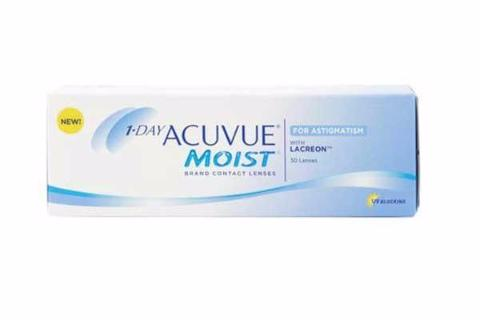 1 Day Acuvue Moist For Astigmatism (30 Lenses Per Box)