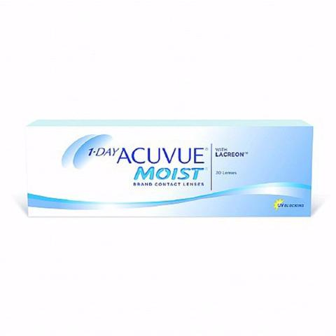 1 Day Acuvue Moist (30 Lenses Per Box)