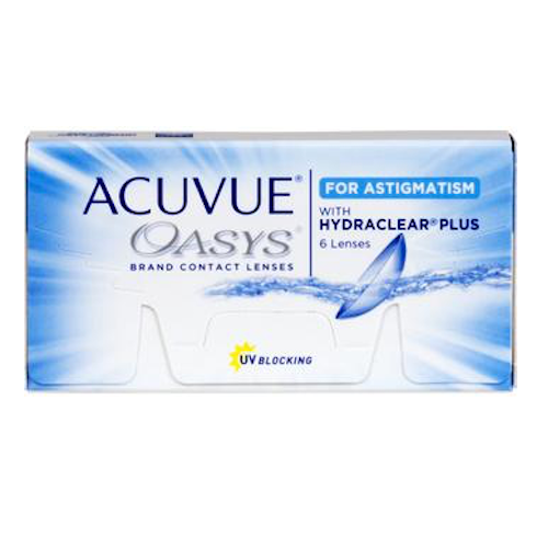 Acuvue Oasys For Astigmatism (6 Lenses Per Box)