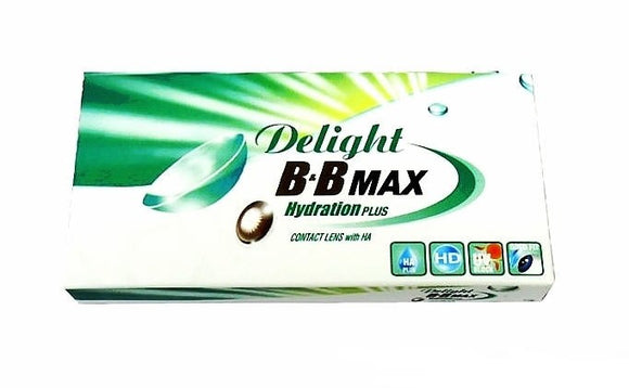 Delight BB Max Colors (2 Lenses Per Box)