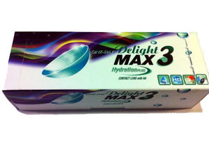 One-Day Delight Max 3 Colors (30 Lenses Per Box)