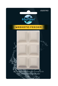 Blue Planet Weekend Food Block 30g 6pk