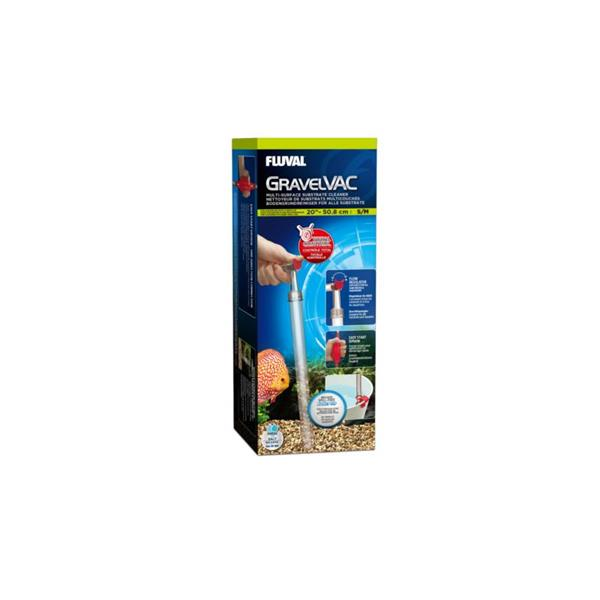 Fluval Gravel Vac Substrate Cleaner: Small/Medium