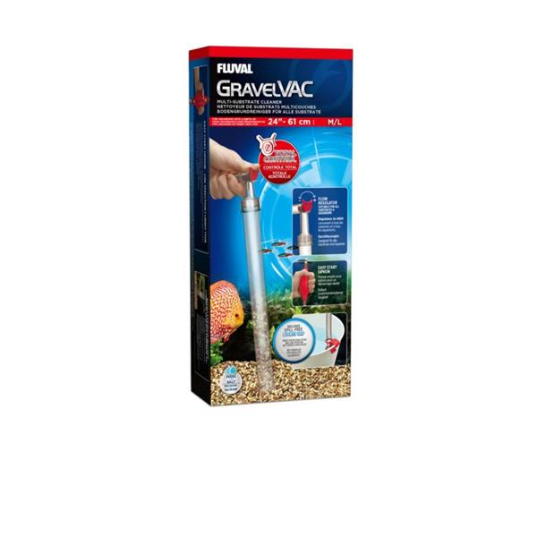 Fluval Gravel Vac Substrate Cleaner: Medium/Large