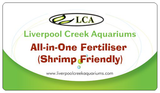 LCA's ALL In One Fertiliser Shrimp Safe 500ML