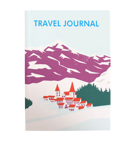 Travel Journal 'Alpine Village' - Pack of 4 - Sukie Wholesale