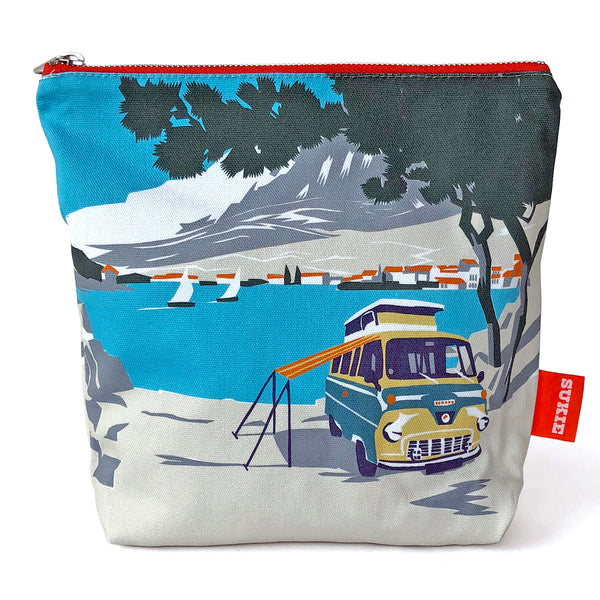 Pouch - Beach Camper Pack of 4 - Sukie Wholesale